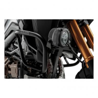 Support pour feux additionnels SW-MOTECH noir Honda CRF1000L 15- avec barres de protection latérale