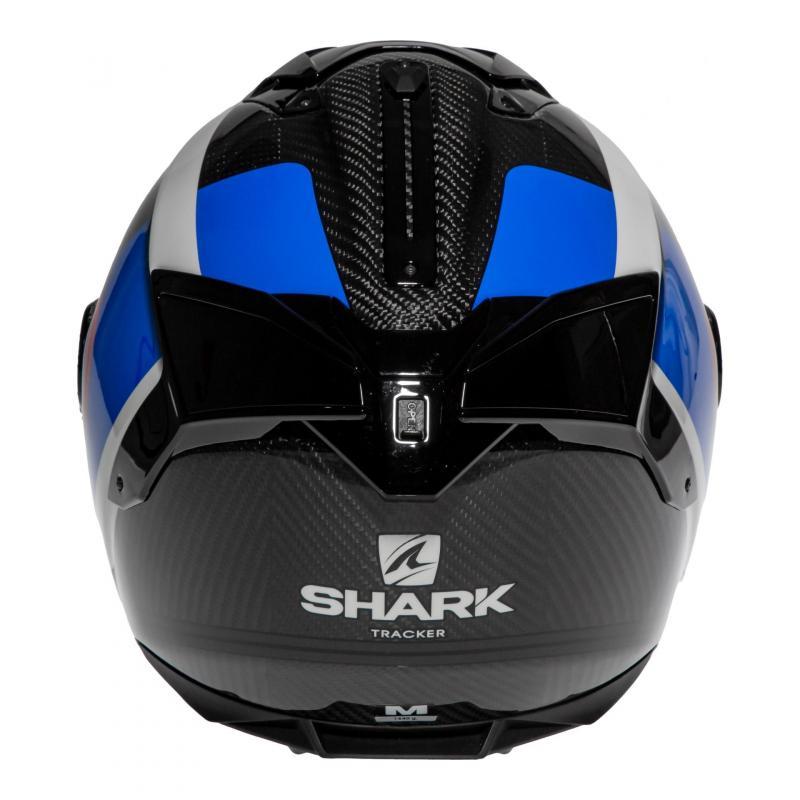 Casque intégral Shark Spartan GT Carbon Tracker carbon/bleu/rouge - 4