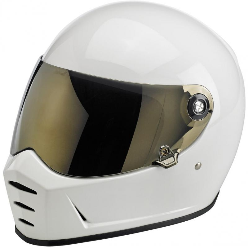 Ecran de casque antibuée Biltwell Lane Splitter iridium or - 2