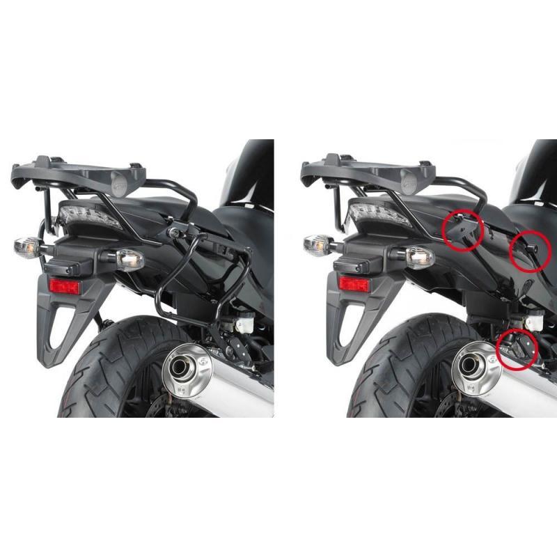 Supports de valises latérales à liaison rapide Givi PLXR Honda 1000 CBF 10-14