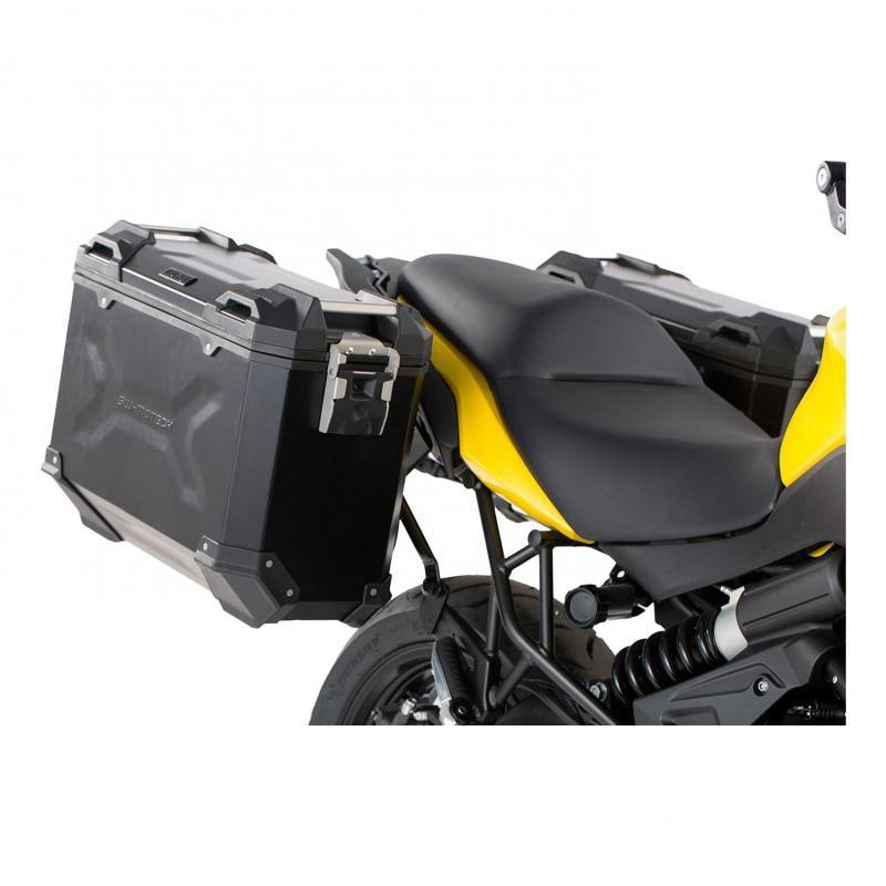 Valises latérales SW-MOTECH TRAX ADV noir 37L Kawasaki Versys 650 15-