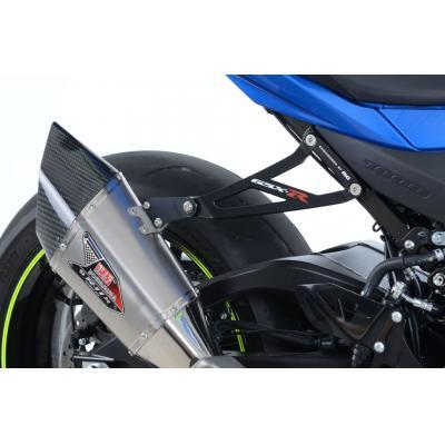 Patte de fixation de silencieux R&G Racing noire Suzuki GSX-R 1000 17-18
