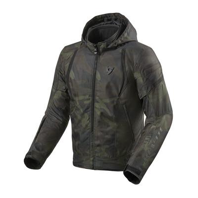 Blouson textile Rev'it Flare 2 camouflage vert foncé