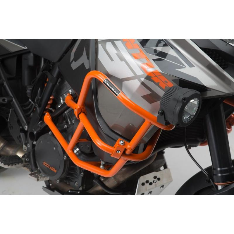 Crashbar supérieur orange SW-Motech KTM 1290 Adventure 17-19 - 2