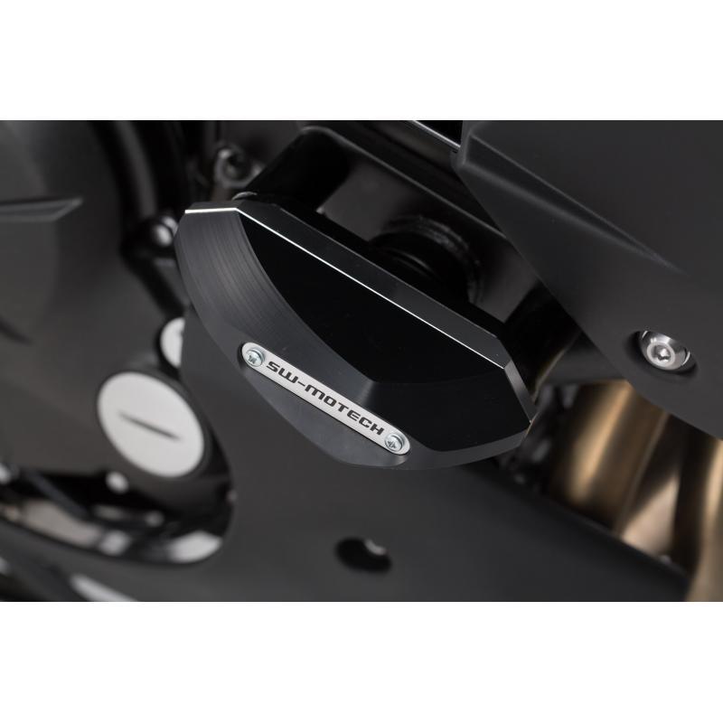 Kit de tampons de protection SW-MOTECH noir Kawasaki Versys 650 15- - 2