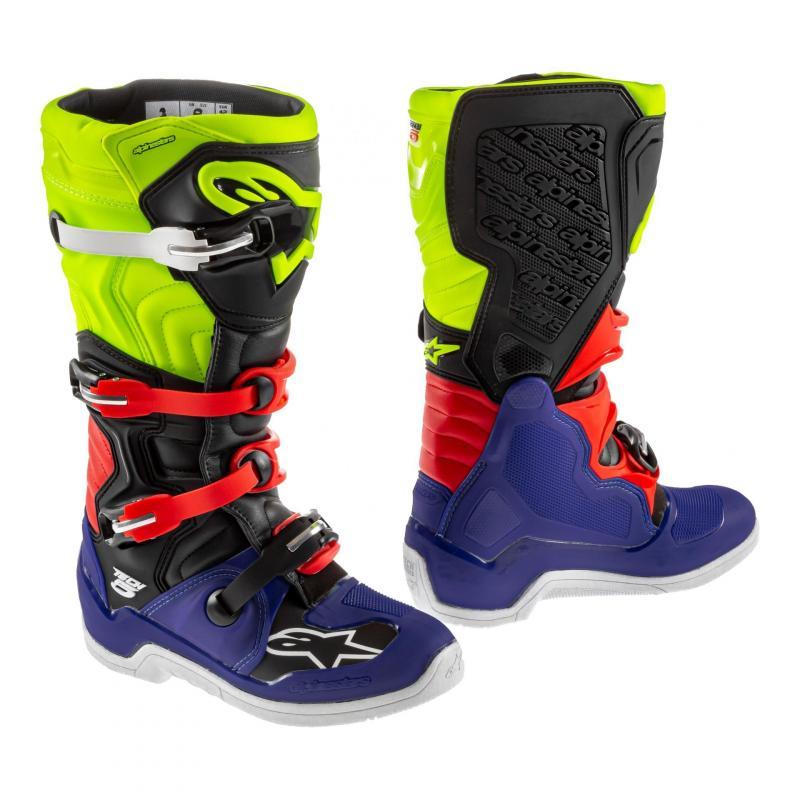 Bottes cross Alpinestars Tech 5 bleu