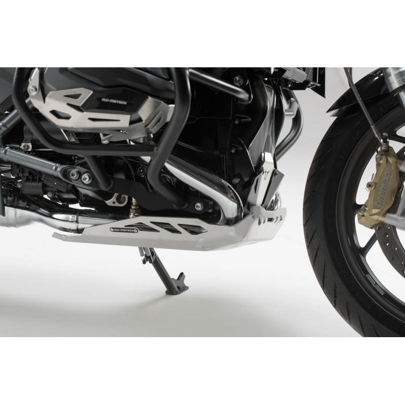 Sabot moteur SW-MOTECH gris BMW R1200R / R1200RS 15- - 2