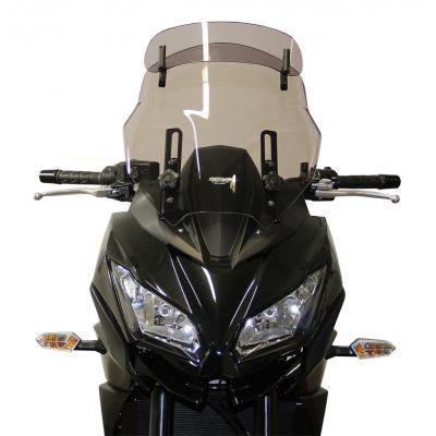 Pare-brise MRA Vario Touring clair Kawasaki Versys 1000 15-18
