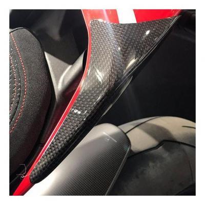 Slider de coque arrière R&G Racing carbone Ducati Panigale V4 18-20