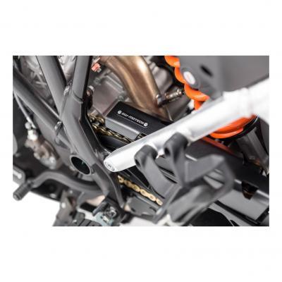 Extension de protection de chaîne SW-MOTECH noir KTM 1050 / 1190 / 1290 Adventure