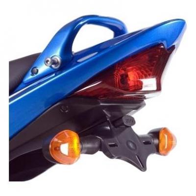 Support de plaque d'immatriculation R&G Racing noir Suzuki Bandit 650 07-09