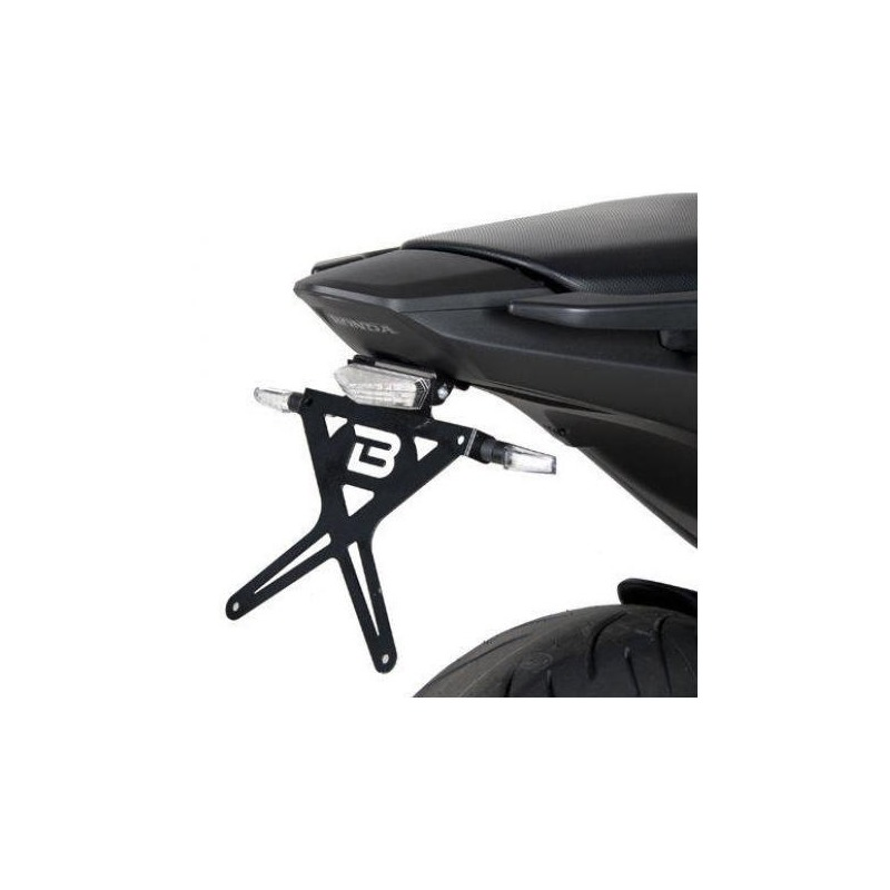 Support de plaque d'immatriculation Barracuda Honda NC 700 S 12-13