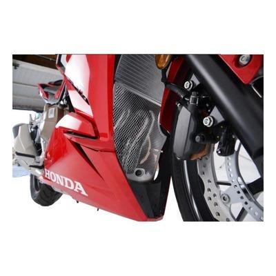 Grille de protection de collecteur R&G Racing noire Honda CBR 500 R 19-20