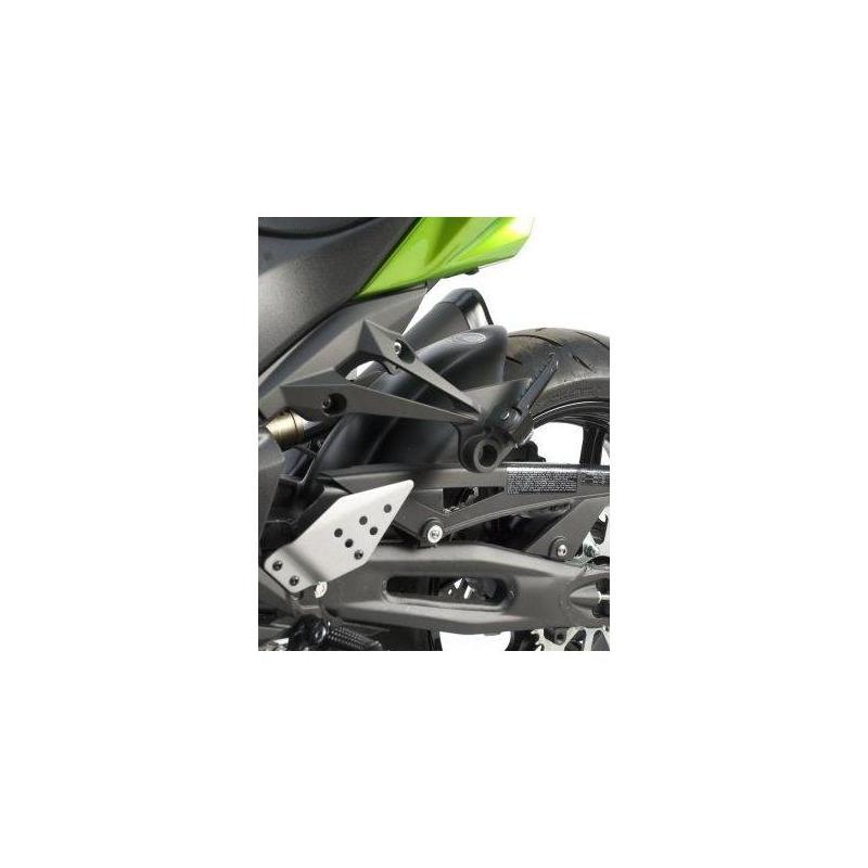 Lèche roue noir R&G Racing pour Kawasaki Z 750 R 11-13