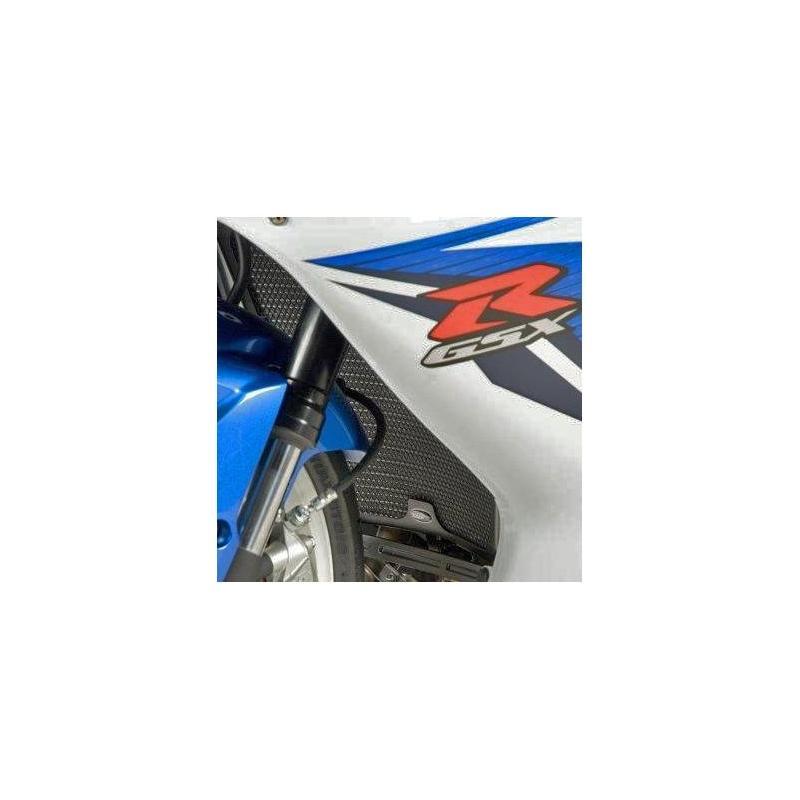 Protection de radiateur noire R&G Racing Suzuki GSX-R 600 08-18