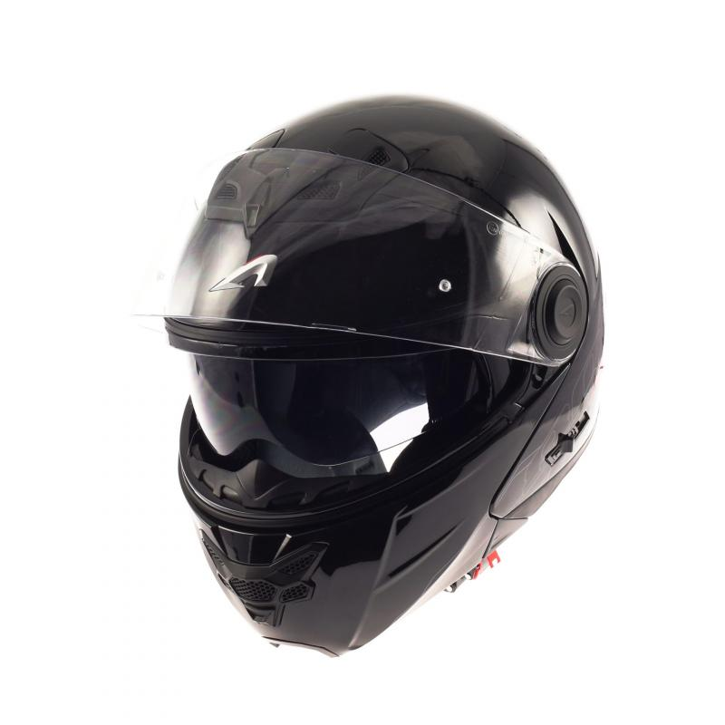Casque Modulable Astone Rt800 Solid Exclusive noir gloss - 1