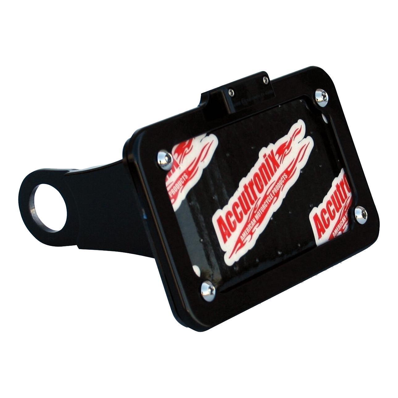 Support de plaque d/'immatriculation plaque à DEL clignotants 3in1 KZ éclairage Pour Harley Davidson