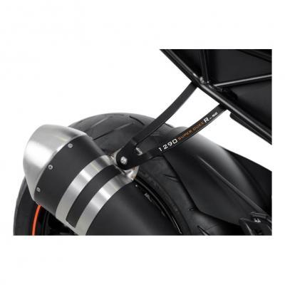 Patte de fixation de silencieux R&G Racing noire KTM 1290 Super Duke R 17-18