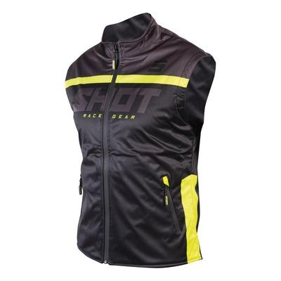 Veste sans manches Shot Bodywarmer Lite 2.0 noir/jaune fluo