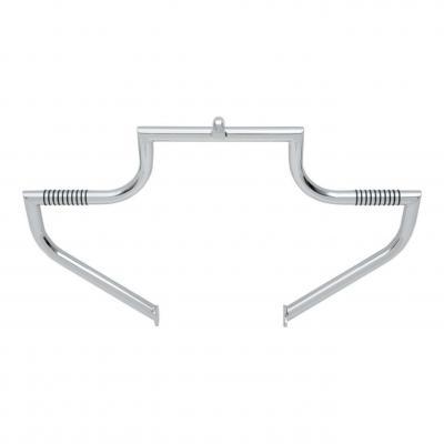 Barre d'autoroute Linbar moustache Lindby Harley Davidson Road king 97-20 chrome