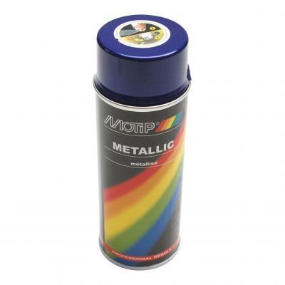 Bombe peinture violet métallisé 400ml Motip