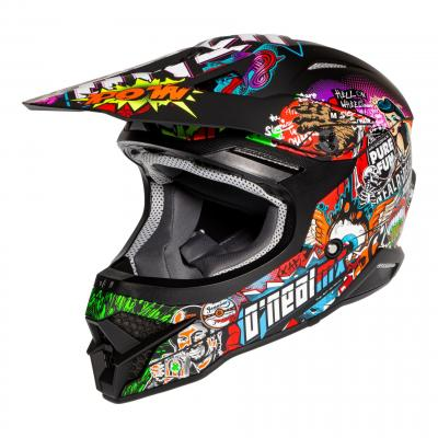 Casque cross O'Neal 3SRS Crank 2.0 multicolore
