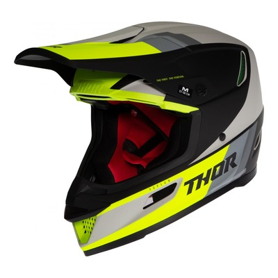 Casque cross Thor Reflex Apex Mips acid/gris/noir mat