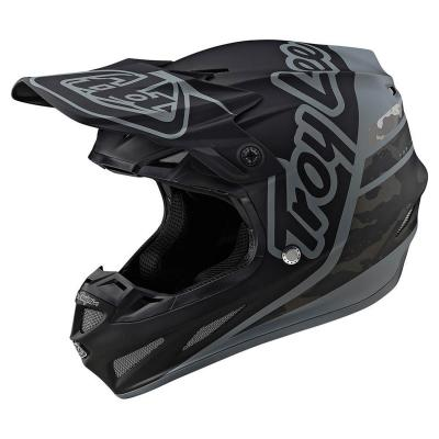 Casque cross Troy Lee Designs SE4 Composite Silhouette Mips Team navy
