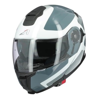 Casque modulable Astone RT1200 EVO Astar blanc/gris brillant