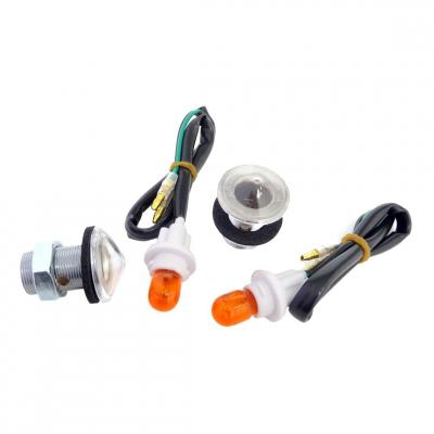 Clignotants TNT Tuning encastrables 21/10W Fisheye (paire)
