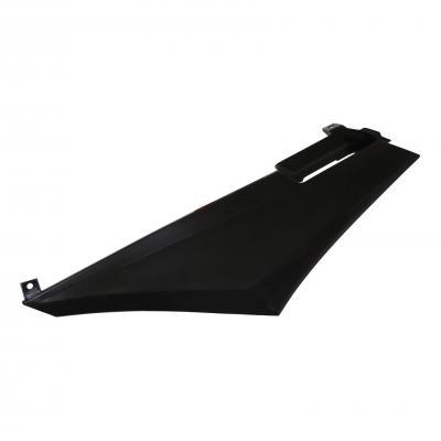 Coque arrière gauche noire brillante adaptable derbi 50 senda drd x-treme/x-race