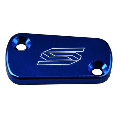 Couvercle de maître cylindre de frein arrière Scar aluminium anodisé bleu pour Suzuki RM-Z 250 04-16