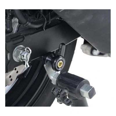Diabolos de bras oscillant R&G Racing noir ØM10 Kawasaki ZX-6R 07-12