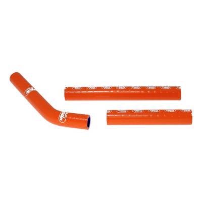 Durites de radiateur Samco Sport type origine KTM 125 SX 07-10 orange (3 durites)