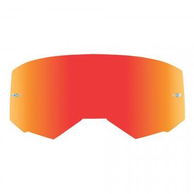 Écran Fly Racing pour masque Zone, Zone Pro et Focus miroir rouge/fumé