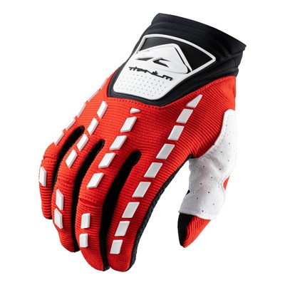 Gants cross Kenny Titanium rouge/blanc