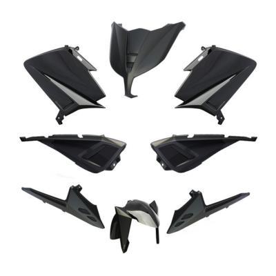 Kit carénage BCD avec poignées / avec rétro Tmax 530 12-14 noir