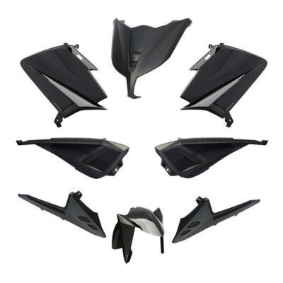 Kit carénage BCD sans poignées / avec rétro Tmax 530 12-14 noir