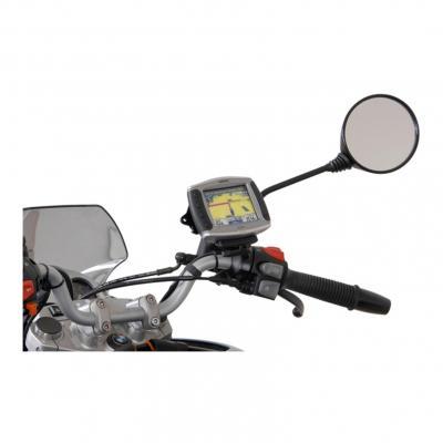 Kit de fixation GPS SW-MOTECH sur rétroviseur M8 / M10 noir