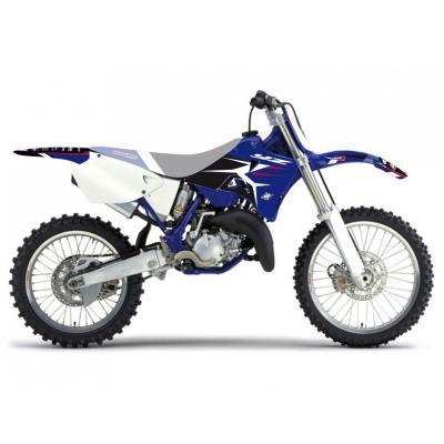 Kit déco Blackbird Racing Dream 4 Yamaha 125 YZ 96-01 bleu/blanc/noir/rouge