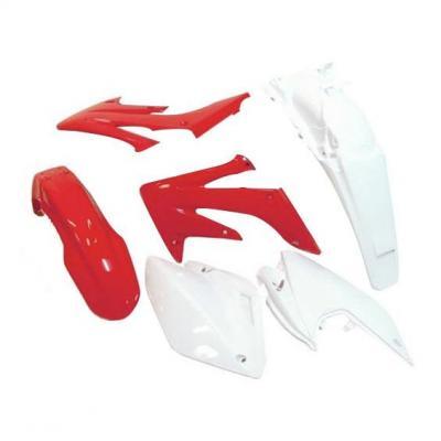 Kit plastique RTech Honda CRF 250RX 04-19 rouge/blanc (couleur OEM 09-19)