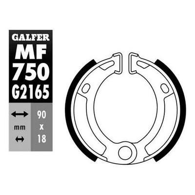 Mâchoire de frein 23 Galfer Peugeot 103 Mvl/Vogue/mbk 51