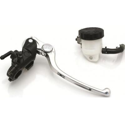 Maître cylindre de frein avant Nissin radial noir Ø 17 mm levier argent