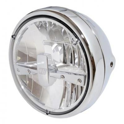 Phare LED Highsider Reno type 3 fixations latérales chromé