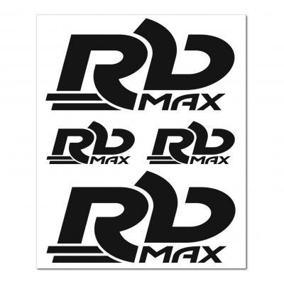 Planche autocollants RB Max noir 150 x 200 mm