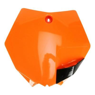 Plaque numéro frontale UFO KTM 85 SX 13-17 orange fluo