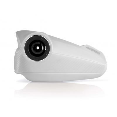 Plastiques de remplacement Acerbis pour protège-mains Vision blanc (paire)