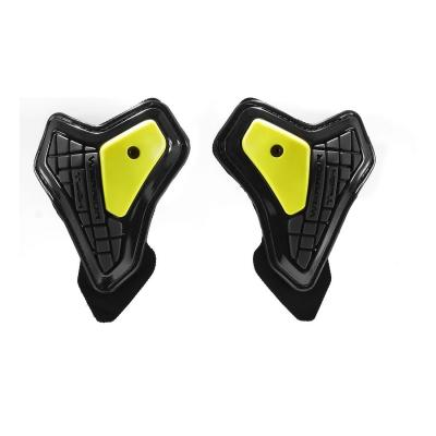 Protections de coudes Spidi WARRIOR ELBOW SLIDER noir/jaune fluo