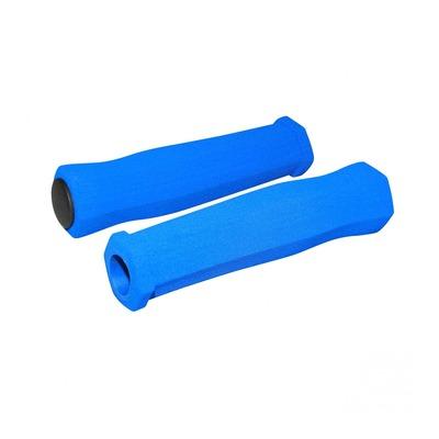 Revêtements de poignées vélo Newton Mousse haute densité bleu foncé