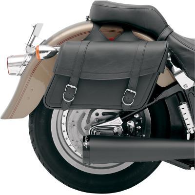 Sacoches latérales Saddlemen Highwayman Slant Style Drifter Jumbo noires